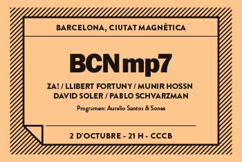BCNmp7. Barcelona, Magnetic City