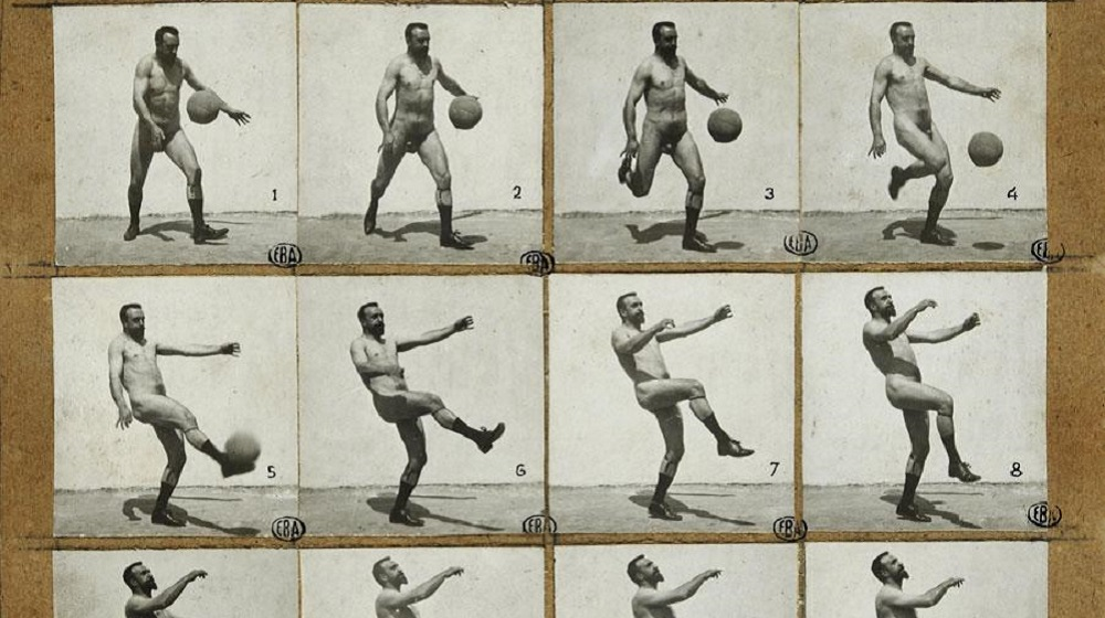 sporting and anatomy c.1890, Albert Londe, © École nationale supérieure des beaux-arts, Paris; Reprofoto: Jean-Michel Lapelerie