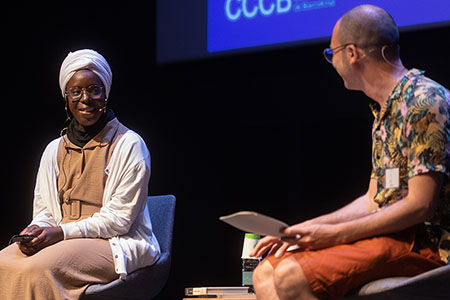 Fatoumata Kébé y Albert Forns