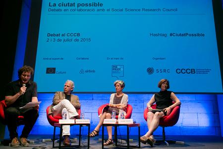 Diane Davis, Teresa Caldeira and Richard Burdett