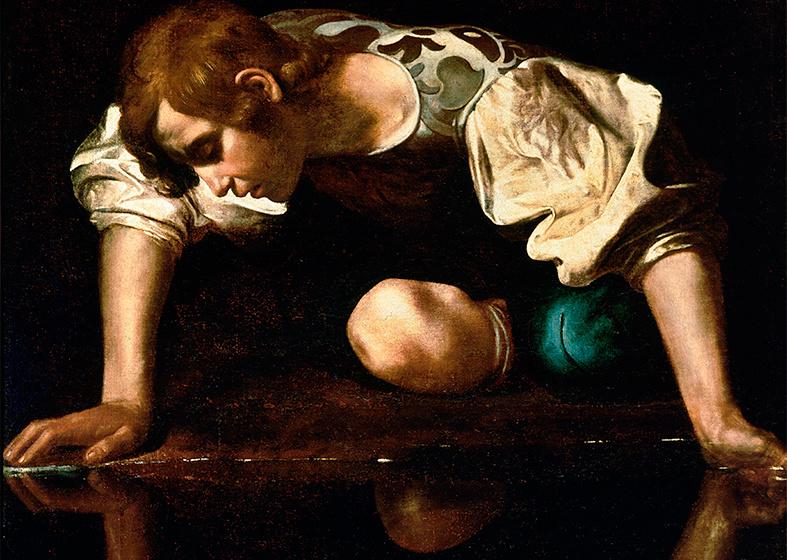 Caravaggio, Narcís, 1594-1596