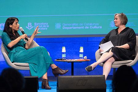 Claudia Durastanti y Stefanie Kremser