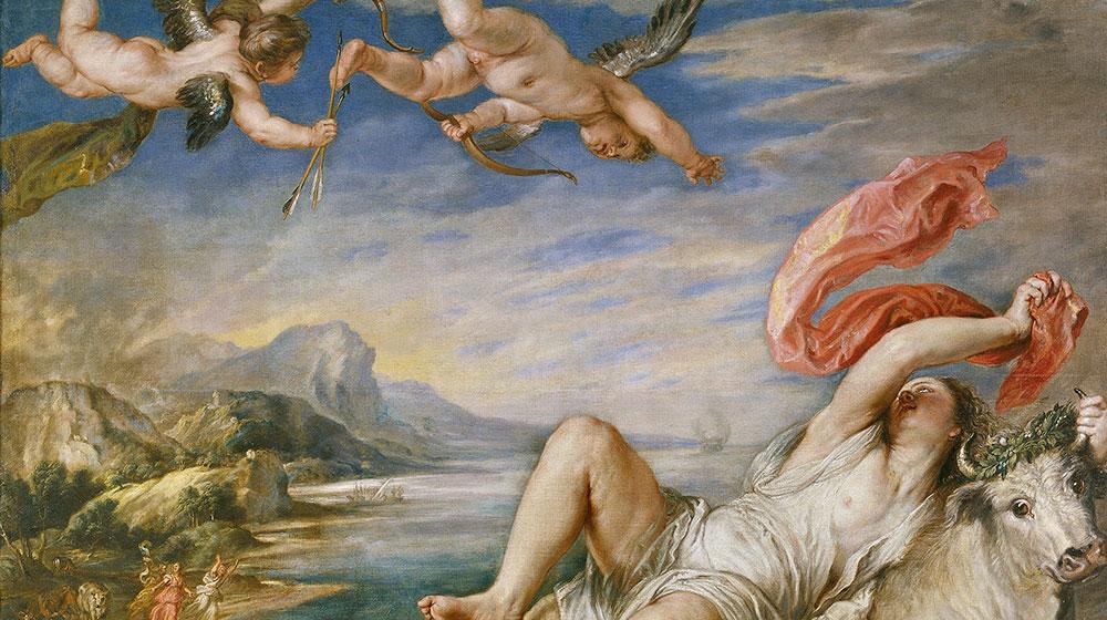 El rapte d'Europa. Ticià, 1560.