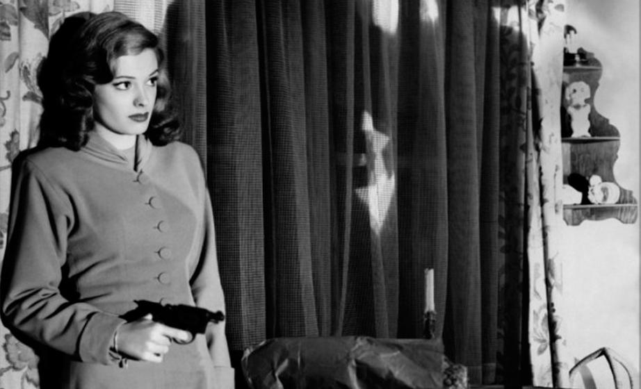 "Jane Greer en ""Retorno al pasado"", de Jacques Tourneur, 1947"