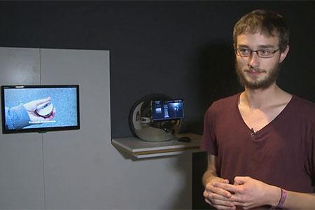 """Lorenz Potthast presenta el """"Casc desaccelerador"""""""