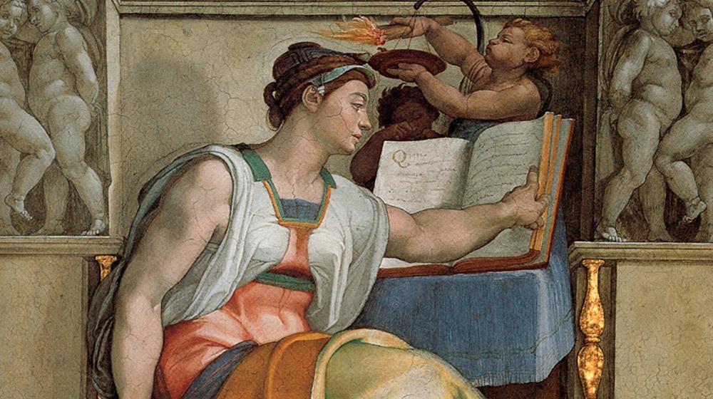 Sibila eritrea, Miguel Ángel, 1500