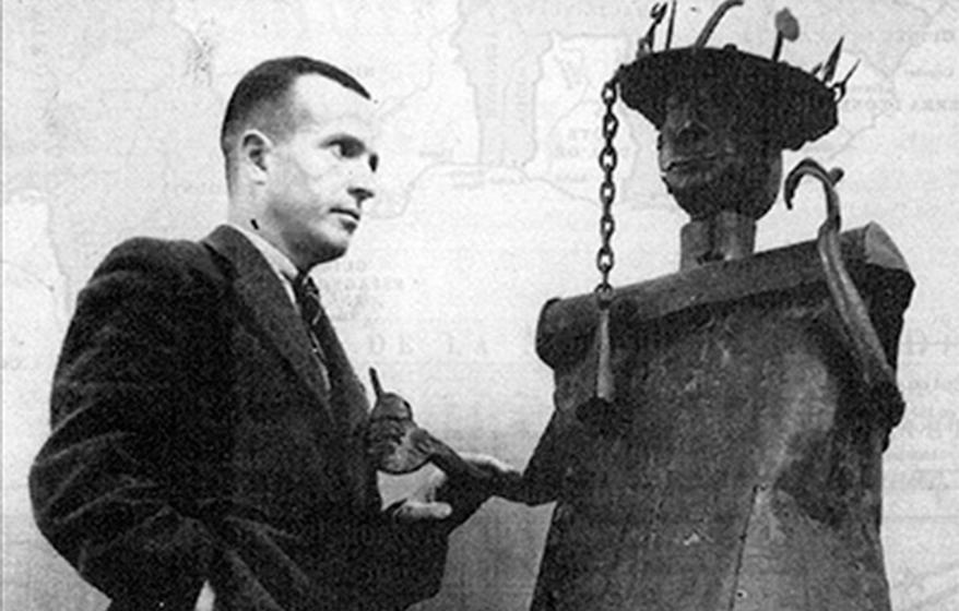 Michel Leiris et Gou, 1947 © T.D.R.