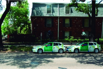 Google Maps is in New Orleans. Photo by Alex Castro, 2011