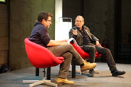 Josep Maria Benet i Jornet conversa con Toni Casares