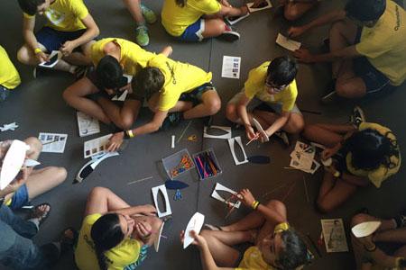Tercera semana Culturnautes'16: Escribir y dibujar el Raval
