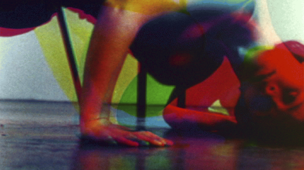 Amanda D. Christie [2006]  3part Harmony: composition in RGB #1 film still