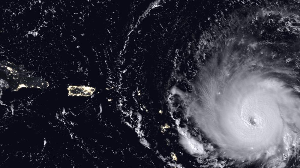 L'Huracà Irma prenent força   NASA   Domini públic