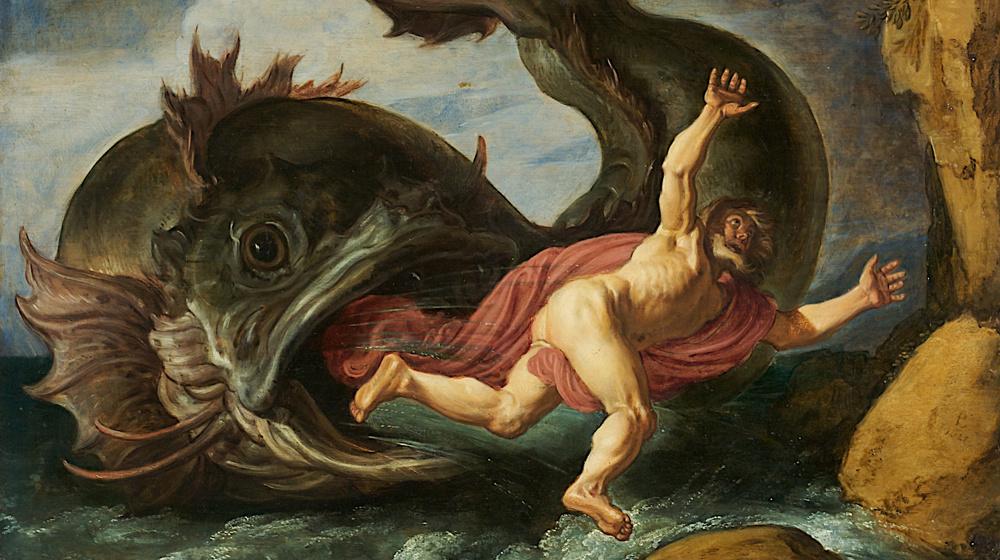 Jonás y la Ballena, Pieter Lastman, 1621