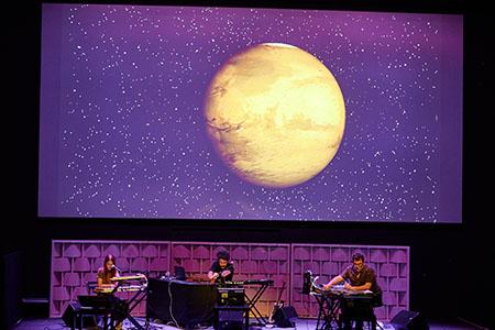 Concert de Nico Roig, amb Lucia Fumero i David Soler