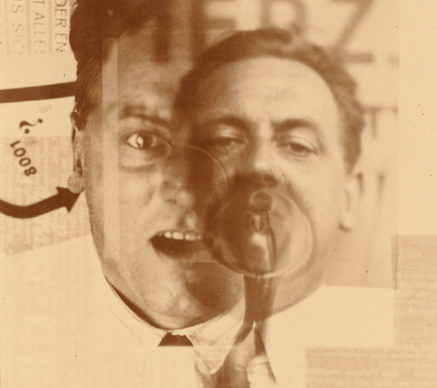 Retrat de Kurt Schwitters, El Lissitzky, 1925
