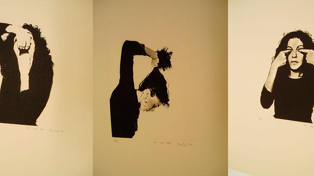 El no dit, el no fet, el no vist (tríptic) 1977 fotogravat paper: © Àngels Ribé / VERBUND COLLECTION, Vienna