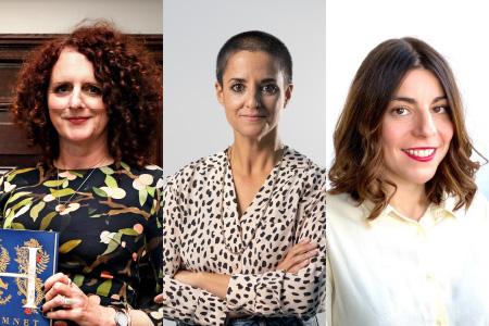 Maggie O'Farrell, Gemma Ruiz Palà and Begoña Gómez Urzaiz