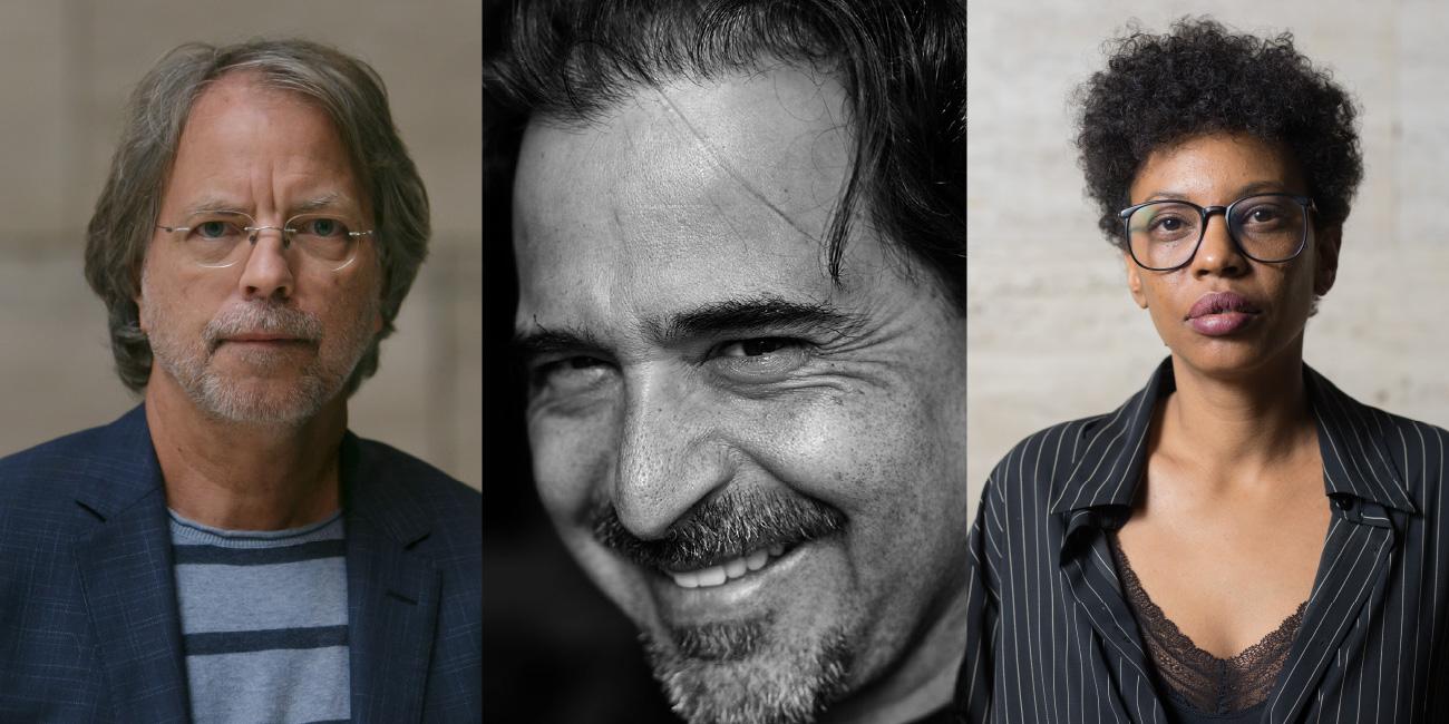 Mia Couto, José Eduardo Agualusa i Tania Adam