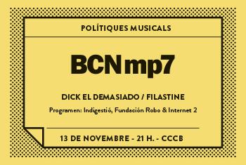 BCNmp7. Musical Policies