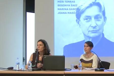 La performativitat de gènere, cos a cos. A càrrec de Meri Torras i Begonya Saez