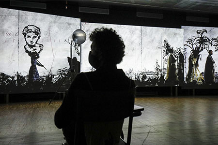 """Report """"William Kentridge That Which Is Not Drawn"""""""