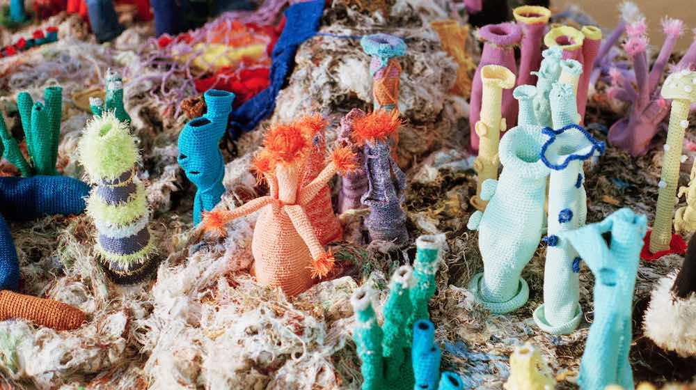 Petra Maitz, Lady Musgrave Reef, 2001-2021. Collection of the artist