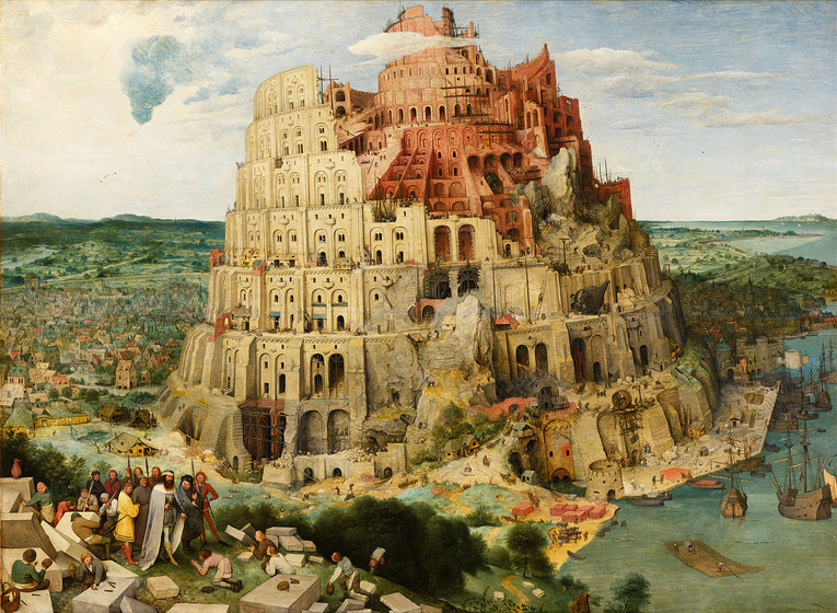 "Pieter Brueghel el Vell ""La torre de Babel"", 1563"