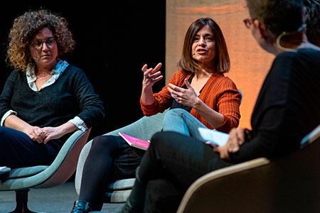 Eva Baltasar, Marta Orriols, Tina Vallès i Laura Pinyol