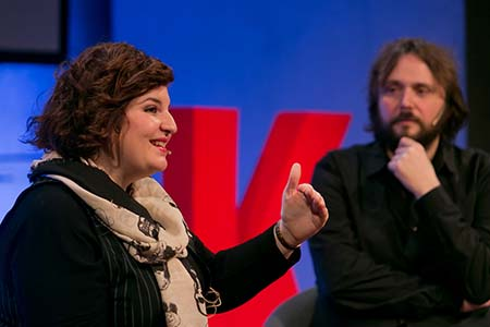 Raquel Crisóstomo i Enric Ros