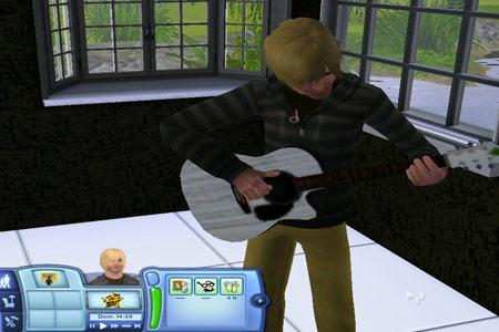 Jugant a «The Sims» com si fóssim Kurt Cobain