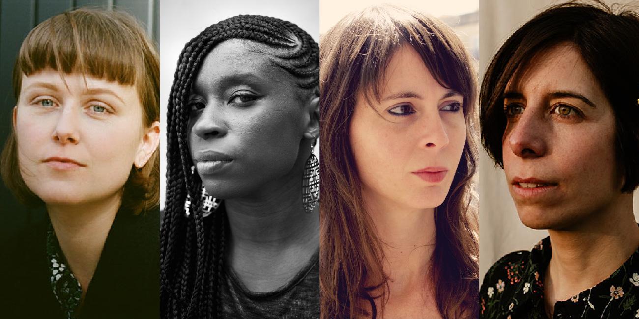 Sophie Collins, Irenosen Okojie, Mireia Calafell i Anna Gual  a Kosmopolis