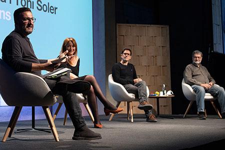 Míriam Cano, Toni Pou, Joan Fontcuberta i Toni Soler