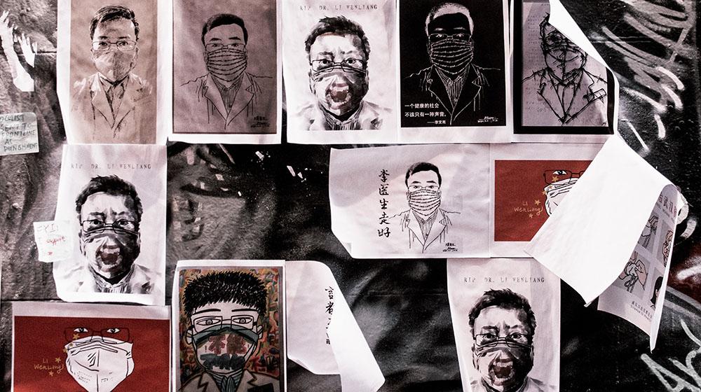 Dr. Li Wenliang © Adli Wahid