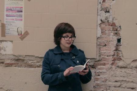Ainhoa Rebolledo llegeix «Mari Klinski»