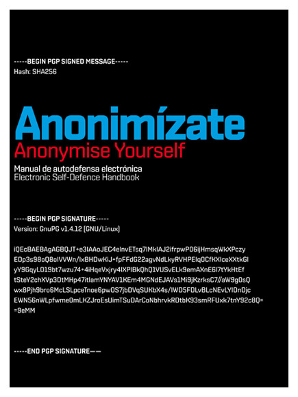 Anonymise Yourself