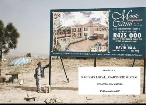 Image Local Racism, Global Apartheid