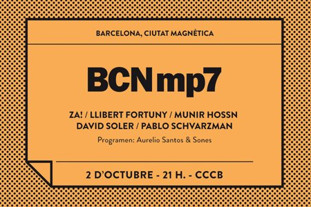 BCNmp7. Barcelona, ciutat magnètica