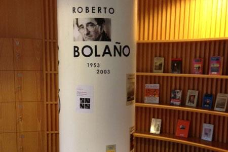 Les biblioteques homenatgen Roberto Bolaño
