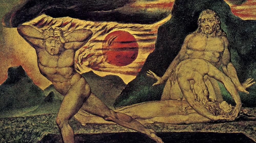 Caín y Abel, Frederic Leighton, 1881