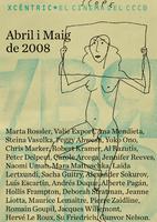 cartell Xcèntric abril-maig 2008