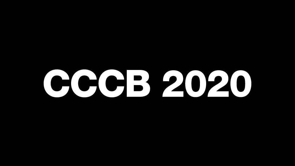 CCCB 2020 Programme