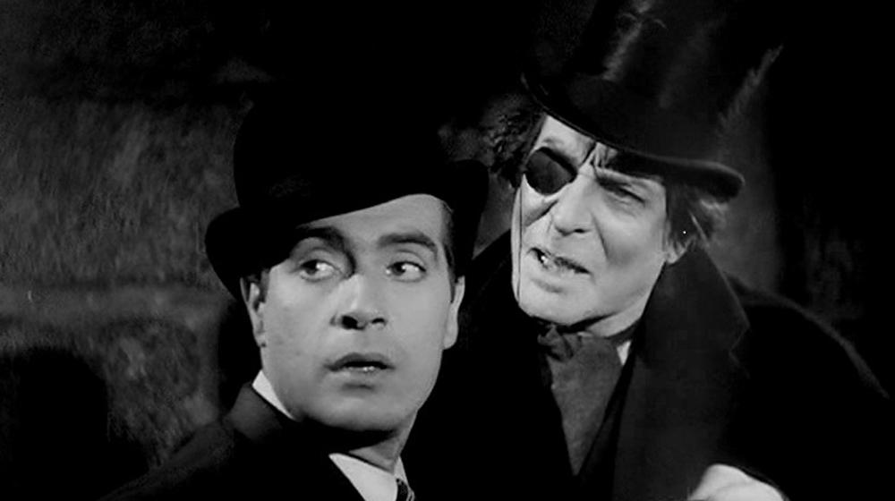 Antonio Casal and Félix de Pomés in «La torre de los siete jorobados» (Edgar Neville, 1944)