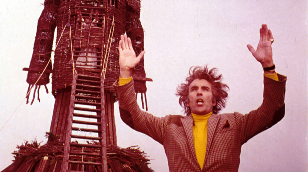 Christopher Lee en «The Wicker Man/El hombre de mimbre» (Robin Hardy, 1973)