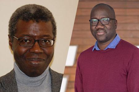 Souleymane Bachir Diagne y Saiba Bayo