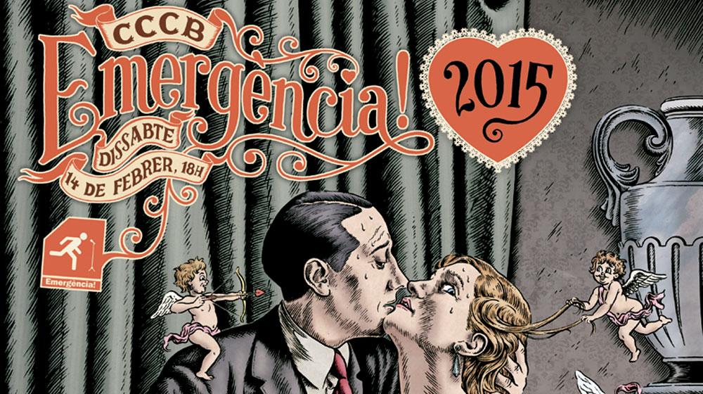 Cartell de l'Emergència! 2016, obra de l'il·lustrador Miguel Brieva
