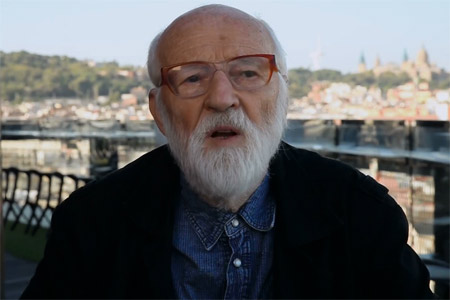 "Jan Švankmajer introduces ""Insect"", his latest film"