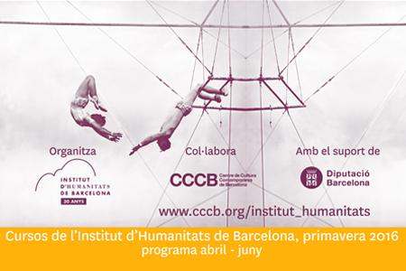 Cursos de primavera del Institut d'Humanitats