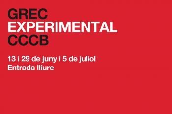Grec Experimental CCCB  2013