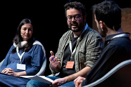 Víctor Sala, Joan Burdeus and Sonia Fernández-Vidal