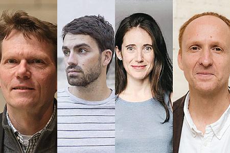 Hartmut Rosa, Eudald Espluga, Sira Abenoza and Daniel Gamper